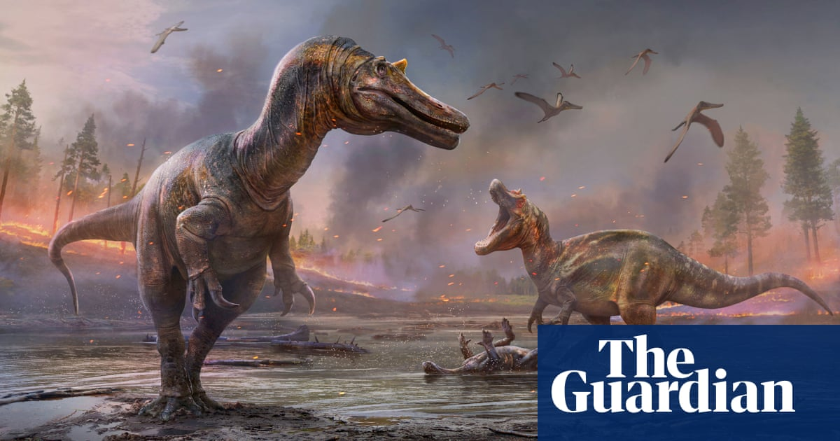 Fossilised 'hell heron' dinosaur unearthed on Isle of Wight