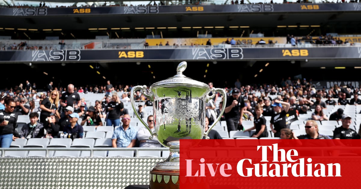 Bledisloe Cup 2020 game two: New Zealand All Blacks v Australian Wallabies – live! – The Guardian