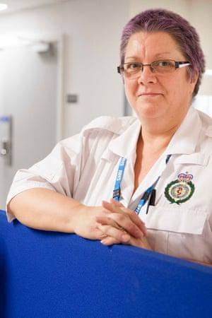 Paramedic Tracy Proud
