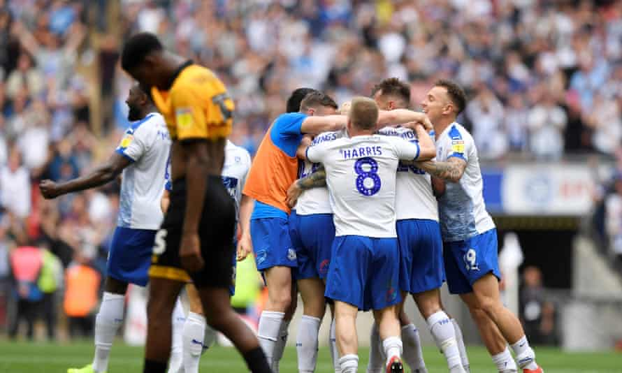 Connor Jennings Heads Tranmere Into League One With Extra Time Winner League Two The Guardian