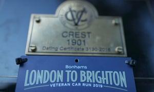 Bonhams London to Brighton Veteran Car Run