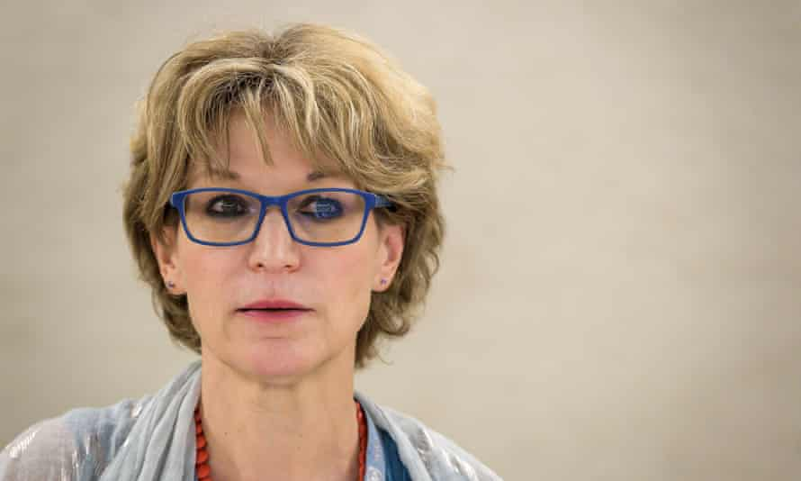 The UN special rapporteur on extrajudicial killings, Agnès Callamard: 'You know, those threats don't work on me. It didn't stop me from acting in a way which I think is the right thing to do.'