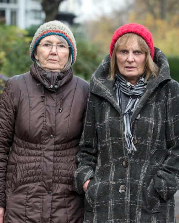 Sheffield residents Jenny Hockey, left, and Freda Brayshaw were arrested by police after protesting against a controversial tree felling programme.