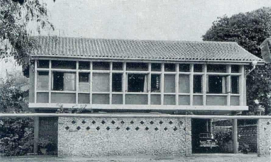 Minnette de Silva's house for Ian Pieris in Colombo's Alfred House Gardens