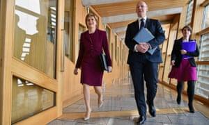 John Swinney, the Scottish finance secretary