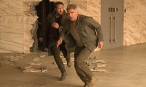 Action with brains … Ryan Gosling and Harrison Ford in Blade Runner 2049.