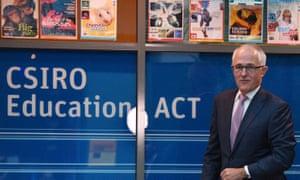 Malcolm Turnbull at CSIRO