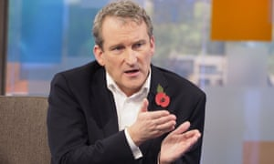 Damian Hinds, the employment minister, appearing on ITV's Peston on Sunday.
