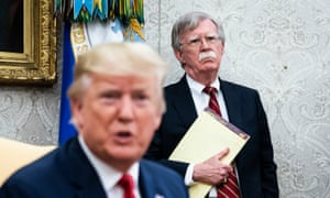 National Security Advisor John R. Bolton and President Donald J. Trump