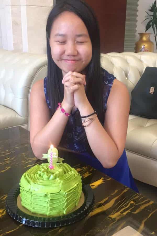 Vivian Chan Wing-yan, who was killed in the bombing in Bangkok.