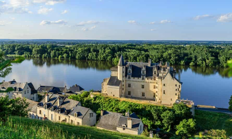 chateau by the Loire river