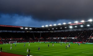Stoke's Bet365 Stadium. Their manager, Michael O'Neill, has been 'really surprised at Championship wage levels'.