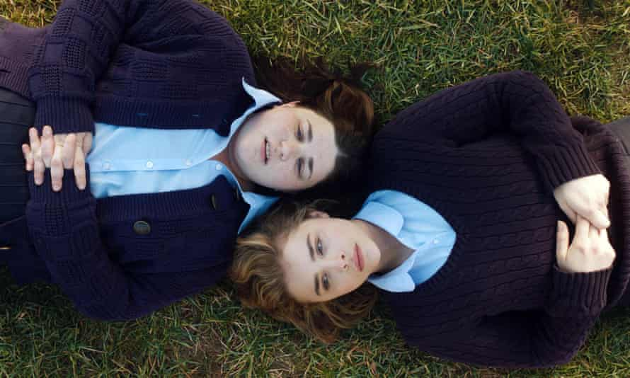 Melanie Ehrlich and Chloë Grace Moretz in a scene from The Miseducation of Cameron Post