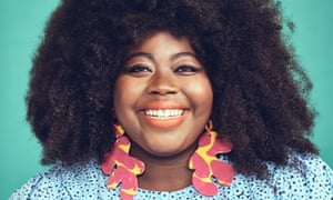 Stephanie Yeboah - shot for OM in south London. Plus-size bloggers, advocates of fat acceptance.