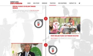 Surrey Canal Sports Foundation website