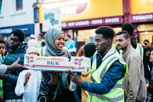 All of Bristol's diverse community was invited to share their meal time in a celebration of friendship.