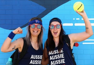 Tennis fans gear up for day seven of the Australian Open in Melbourne.