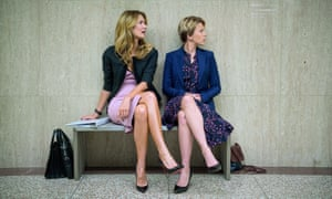 Best supporting actress nominee … Laura Dern, left, with Scarlett Johansson in Marriage Story.