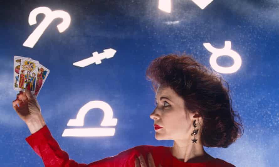 The tabloid horoscopes queen, Mystic Meg.