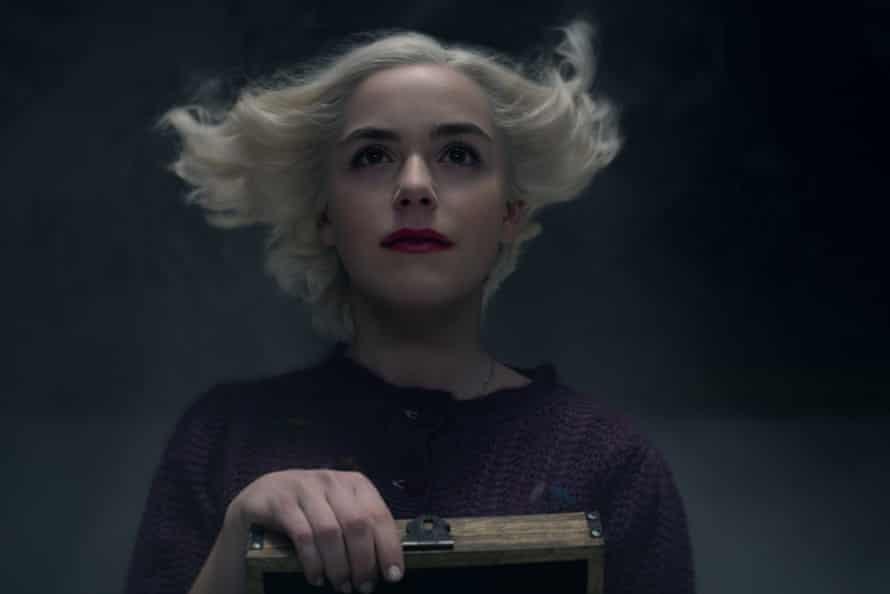 Kiernan Shipka in the Netflix Original series Chilling Adventures of Sabrina.