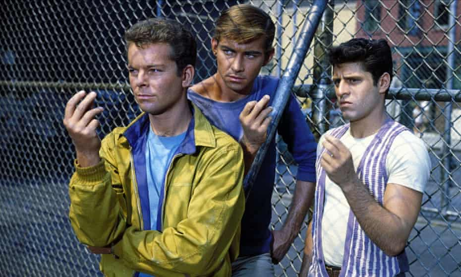 The apotheosis of the marriage between Shakespeare and thenew world occurs with West Side Story (1961)
