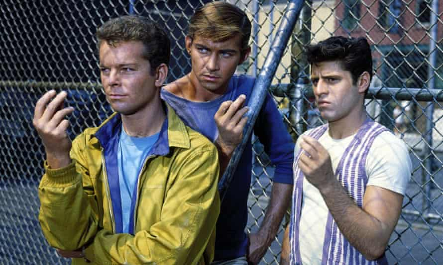 Jets be having you ... West Side Story.