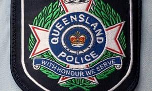 Queensland police badge.