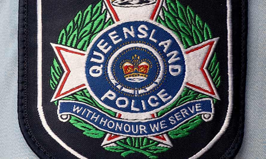 Queensland police badge