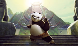 Visually sumptuous … Kung Fu Panda 3.
