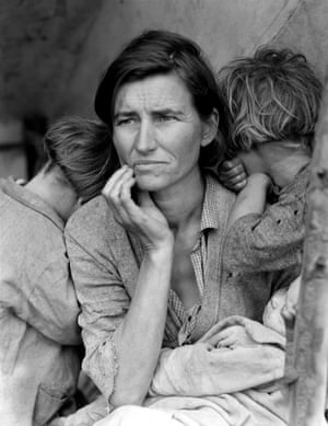 Migrant Mother, 1936, by Dorothea Lange.