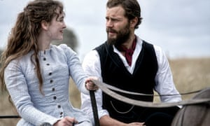 Ann Skelly as Beth and Jamie Dornan as Liam in Death and Nightingales.