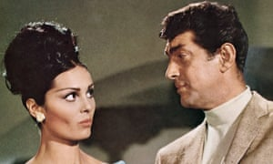 Daliah Lavi with Dean Martin in The Silencers, 1966.
