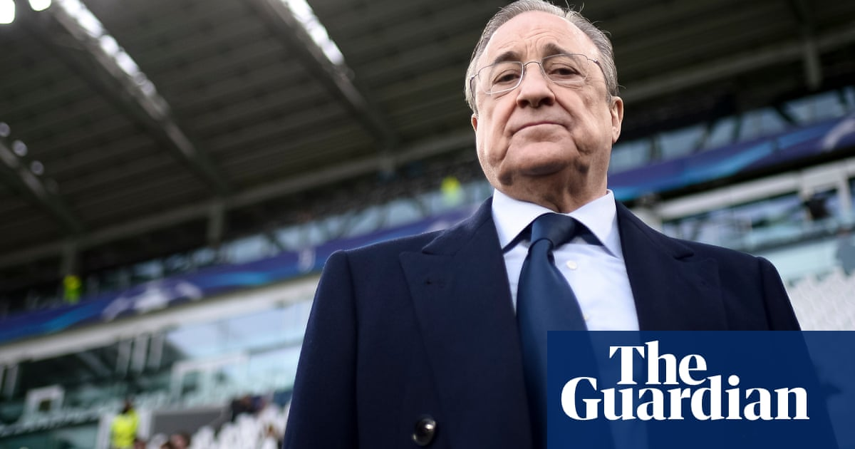 Florentino Pérez: the emperor who wanted more but lost for once | Sid Lowe