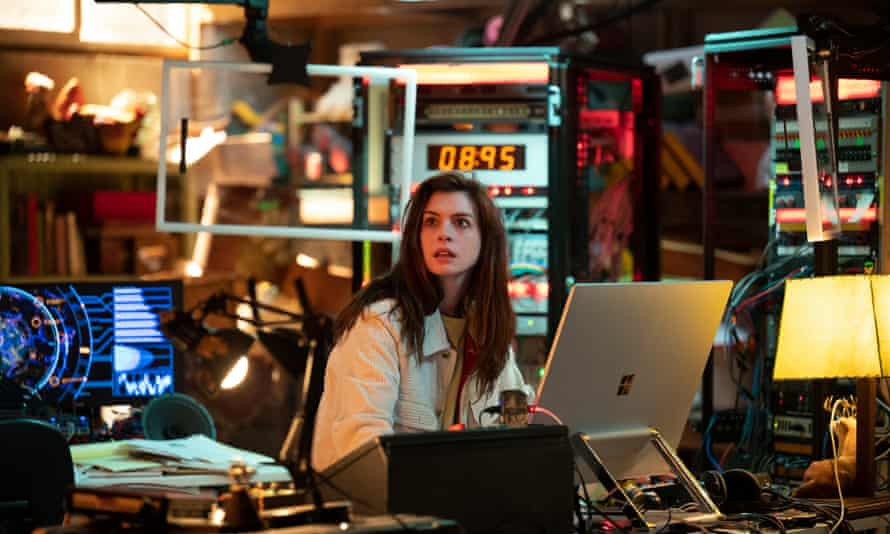 Anne Hathaway in Amazon's Solos.