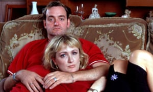 'The recording nights were nerve-racking but exhilarating' … Aherne (left) on The Royle Family.