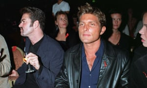 George Michael and Kenny Goss in 1998.