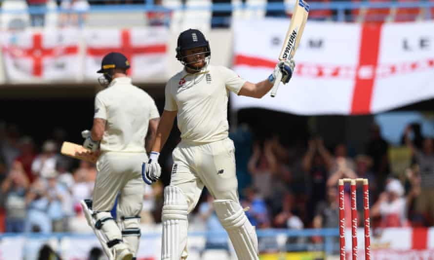Jonny Bairstow, England v West Indies, second Test