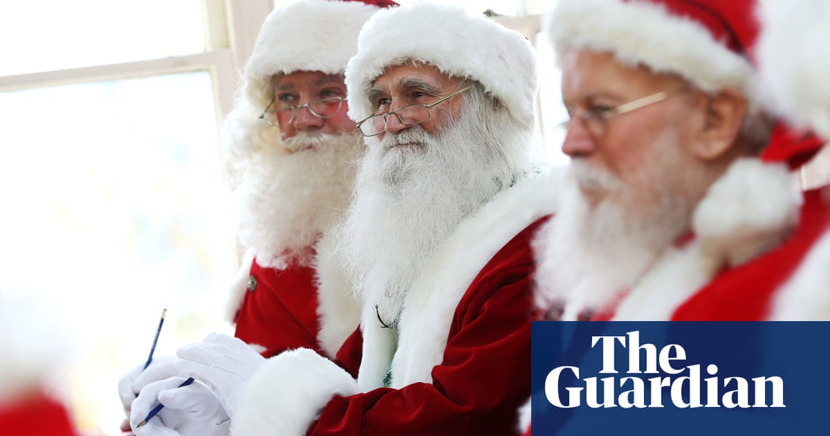 54b2e46a9 Becoming Santa: 'The trickiest questions are the saddest ones ...
