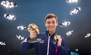 The Olympic diver Tom Daley