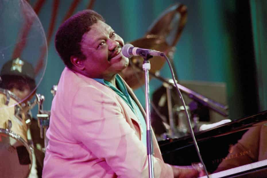 Fats Domino performing in 1993.