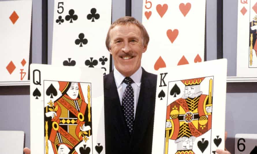 Bruce Forsyth presenting Play Your Cards Right.
