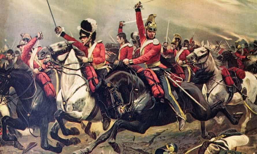 Scottish soldiers help the new United Kingdom triumph at Waterloo.