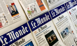 Pages from Le Monde