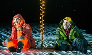 'Moments of intensity in a white waste': Mark Rylance and Jim Lichtsheidl in Nice Fish.