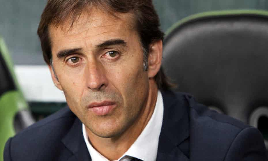 Julen Lopetegui, the Spain coach, led their Under-21 side to the European Championship in 2013