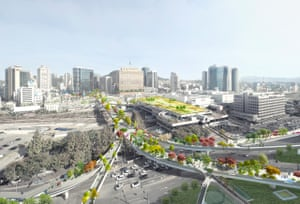 The proposed Seoul Skygarden