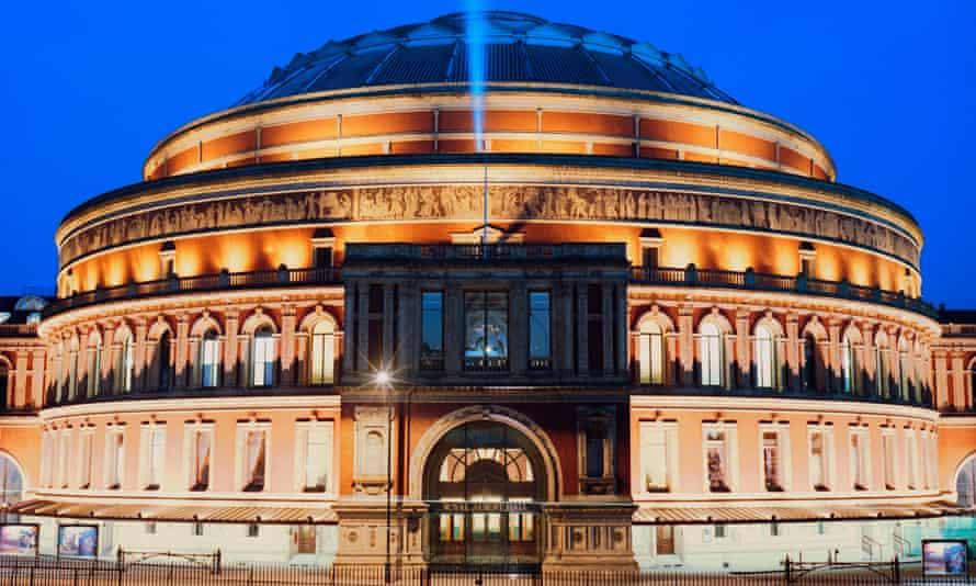 A recent photograph of the Royal Albert Hall, Kensington, London.