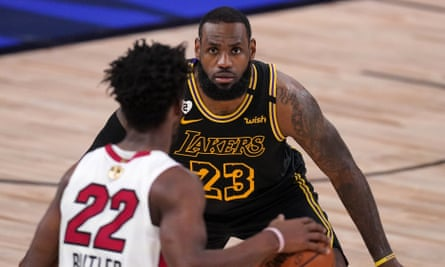 Lakers Overwhelm Shorthanded Heat In Game 2 To Take Control In Nba Finals Nba Finals The Guardian