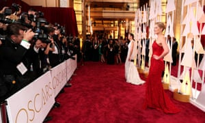 Marion Cotillard and Rosamund Pike on the red carpet