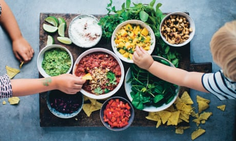 A simple bean salad and a build-your-own tortilla bowl: 20 best vegetarian and vegan recipes – part 3